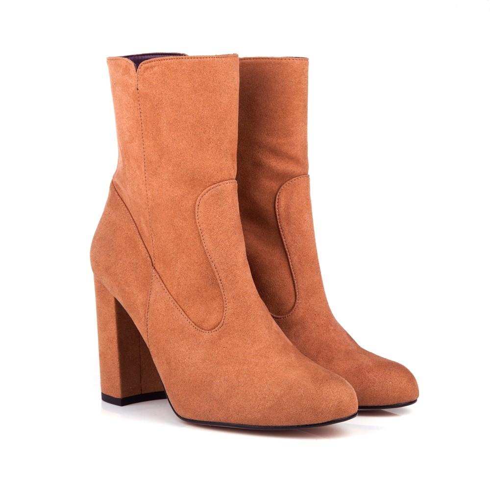 chestnut vegan boots