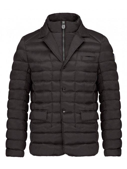 black vegan ski jacket