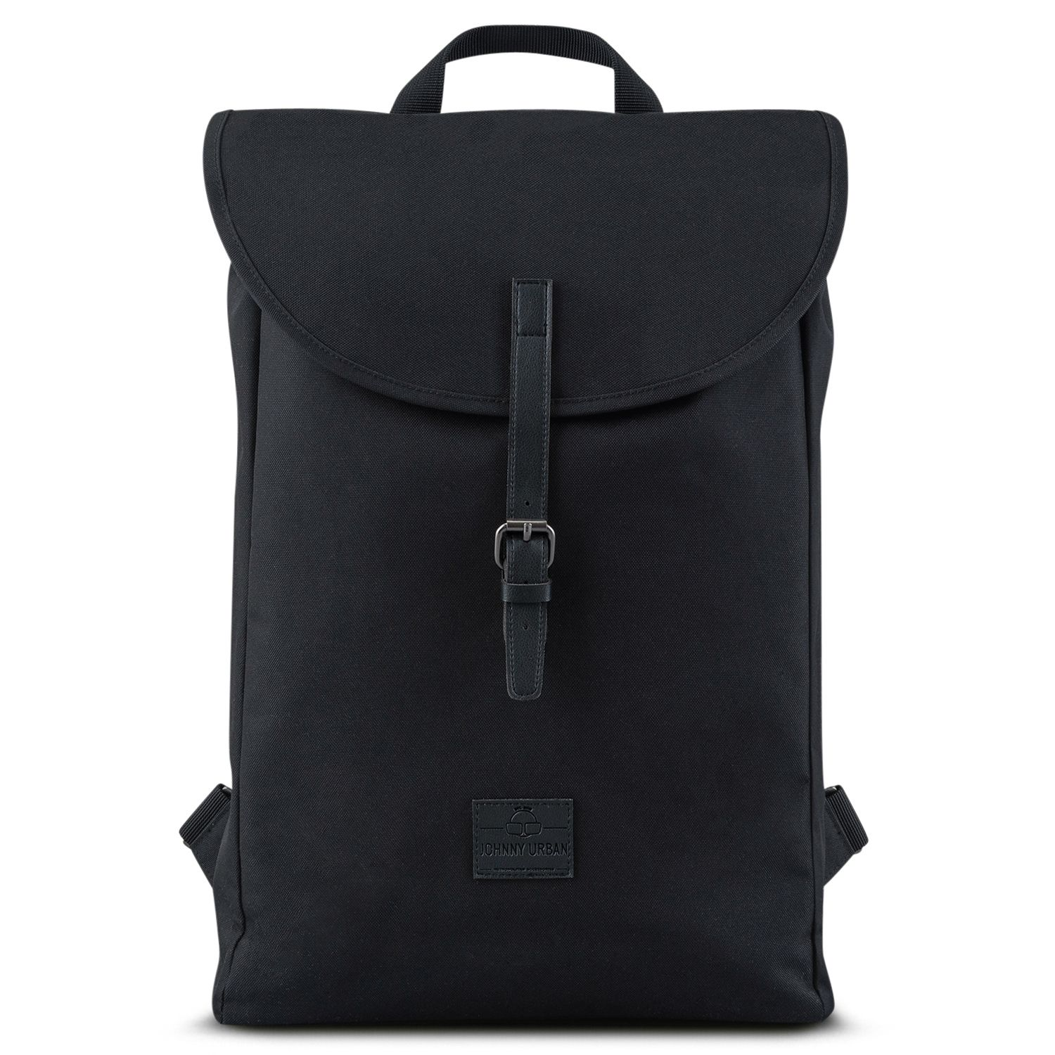 black rpet backpack