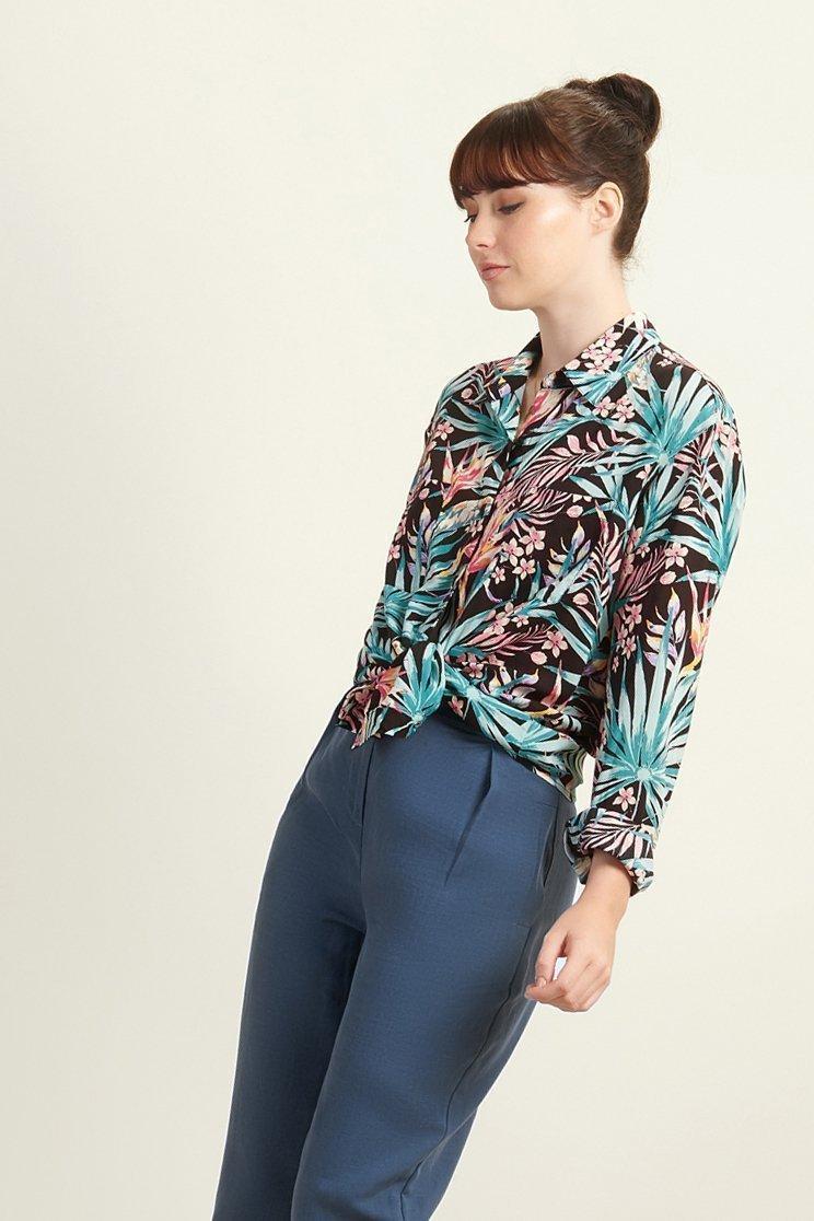 modal blouse vegan komodo