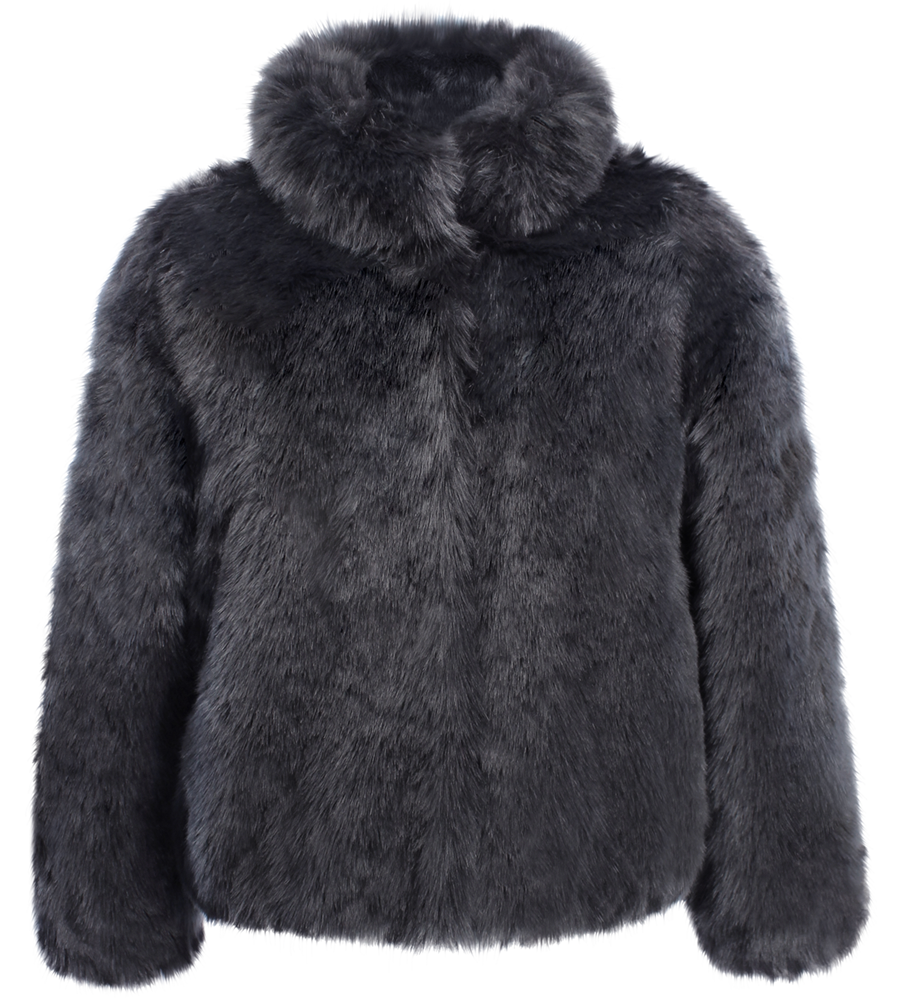 ruby ed vegan faux fur coat