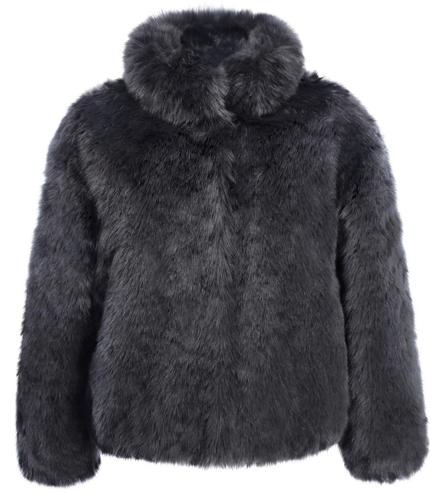 ruby ed vegan faux fur coat