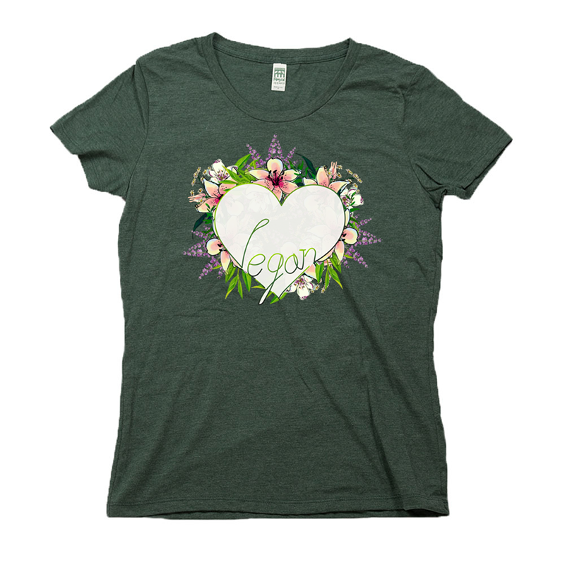 green rpet tee underground orchid