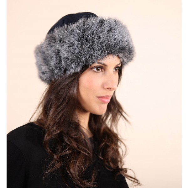 vegan hat noah faux fur
